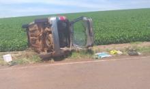Carro com placas de Caxias se envolve em acidente fatal em Salto do Jacuí